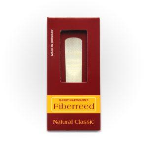 עלה לסקסופון אלט Fiberreed Premium Natural Classic Medium