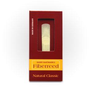 עלה לקלרינט Fiberreed Premium Natural Classic Medium Hard
