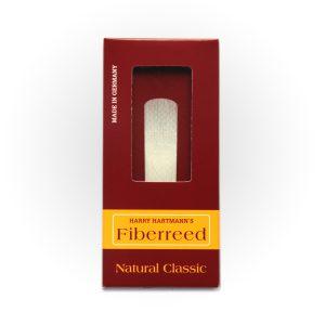 עלה לסקסופון סופרן Fiberreed Premium Natural Classic Medium Soft
