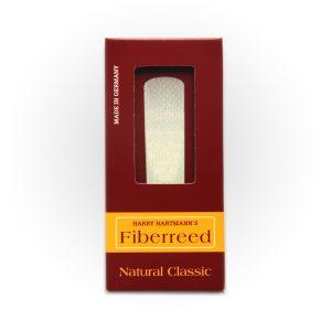 עלה לסקסופון טנור Fiberreed Premium Natural Classic Medium Soft
