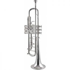 חצוצרה ציפוי כסף Getzen Eterna II Gold Brass Leadpipe