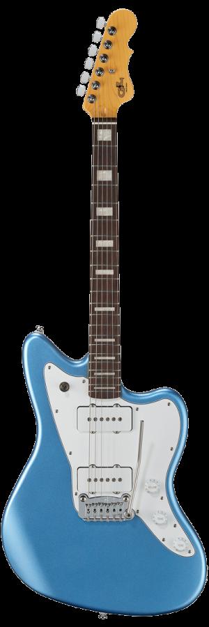 גיטרה חשמלית   G&L Tribute Doheny   lake placid blue