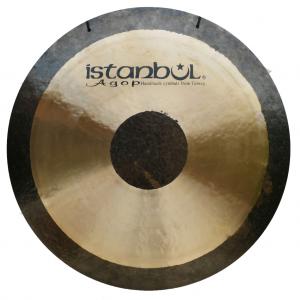 גונג סימפוני 12 אינצ עם סטנד סאונד חם ועגול Istanbul Agop Hybrid Symphonic