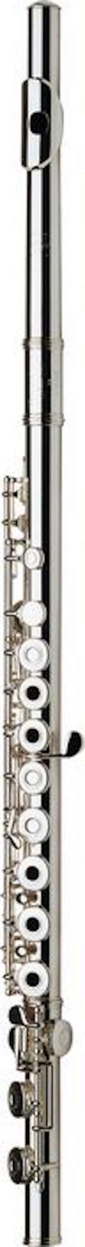 חליל צד חורים פתוחים ראש כסף  עם פיה ציפוי זהב Gemeinhardt 30SH
