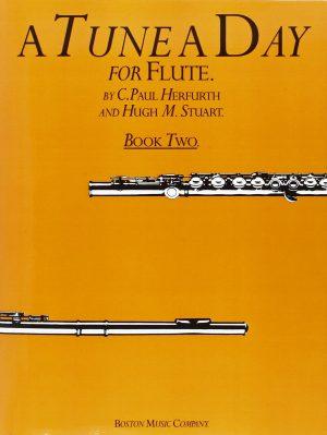 ספר לימוד חליל צד – A Tune A Day חלק 2