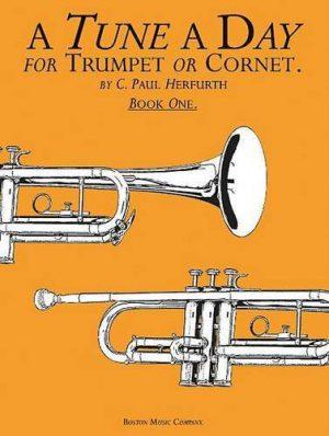 ספר לימוד חצוצרה – A Tune A Day חלק 1