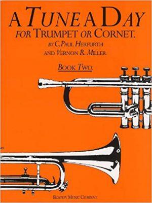 ספר לימוד חצוצרה – A Tune A Day חלק 2
