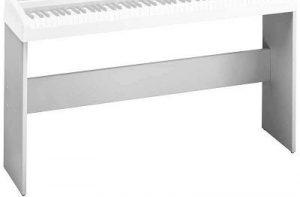 סטנד עץ בצבע לבן לפסנתר חשמלי Korg SP170S