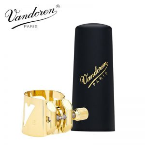 ליגטורה לסקסופון טנור Vandoren Optimum Gold LC08P