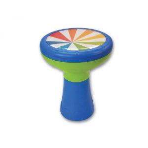 דרבוקה בעיצוב אותנטי ובטיחותי עם אפשרות לנגן בפטישון