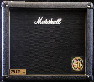 ארגז רמקולים Marshall 1912 1X12