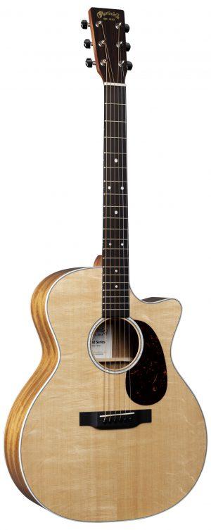 גיטרה אקוסטית מוגברת + נרתיק מרופד Martin GPC-11E