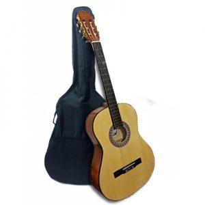 גיטרה קלאסית 4/4 בגימור מבריק עם תיק MIG-44 Miguel Lucia