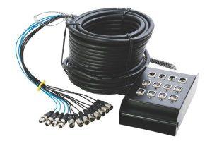 קופסת חיבורים לבמה 12+4 17 מטר On Stage SNK12450