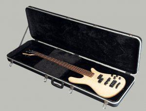 ארגז פיברגלס לגיטרה בס 2 מפתחות מכל כיוון 10405B
