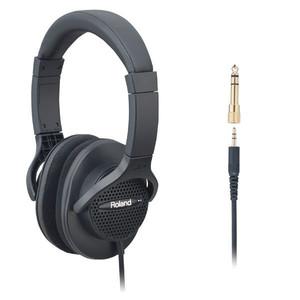 אוזניות Roland RHA7BK בצבע שחור