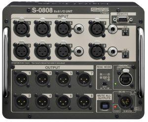 קופסה במה למיקסר דיגיטלי Roland S-0808