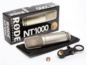 מיקרופון אולפן Rode NT1000