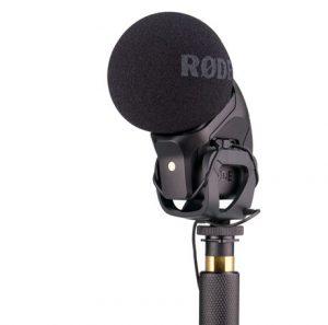 מיקרופון קונדנסר למצלמה Rode Stereo VideoMic Pro