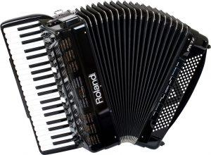 אקורדיון V שחור Roland FR7X-BK