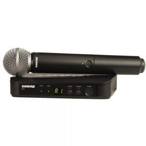 מיקרופון אלחוטי ידני Shure BLX24E/SM58