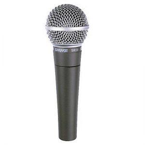 מיקרופון דינמי מקצועי לשירה Shure SM58-LCE