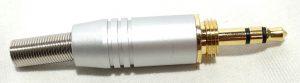 פלג קונקטור הברגה הלחמה  PL 3.5 סטריאו תוצרת Steelerd