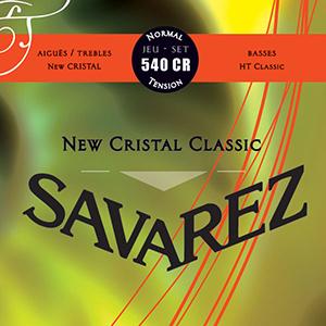 מיתרים לגיטרה קלאסית Savarez Cristal 540CR