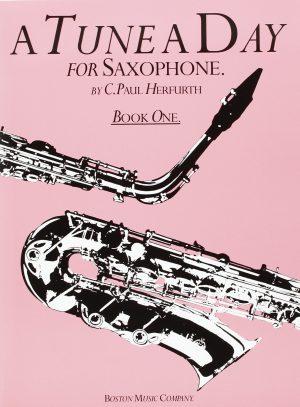 ספר לימוד סקסופון – A Tune A Day חלק 1