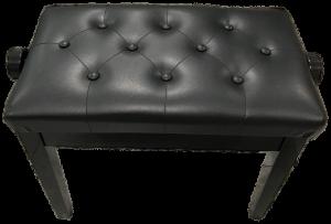 כסא שחור לפסנתר מעץ  Steelerd SB125