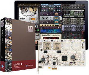 כרטיס מעבד אפקטים Universal Audio UAD-2 DUO