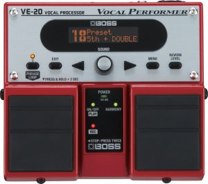 אפקט לשירה Boss Vocal Processor VE20