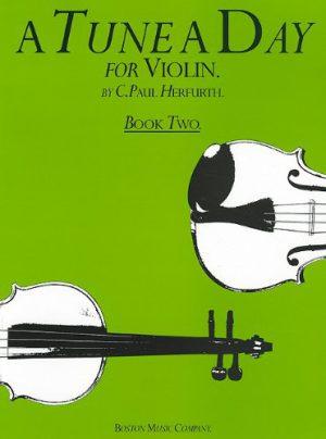 ספר לימוד כינור – A Tune A Day חלק 2