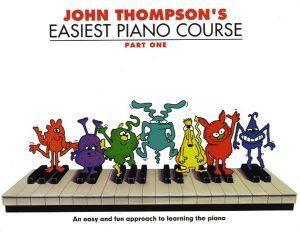 ספר לימוד פסנתר באנגלית – גמדים 1 John Thompsons – Easiest Piano Course