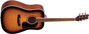 גיטרה אקוסטית Washburn D10QSB