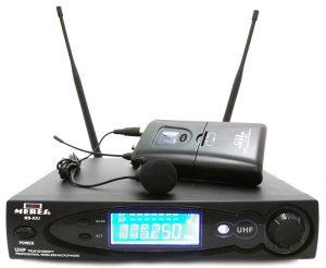 מיקרופון דש אלחוטי דיגיטלי Meres MS63U-1 UHF