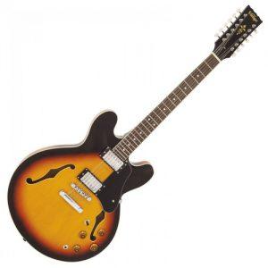 גיטרה חשמלית 12 מייתרים VINTAGE VSA500SB-12