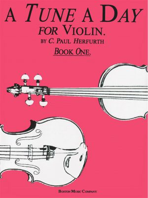 ספר לימוד כינור – A Tune A Day חלק 1