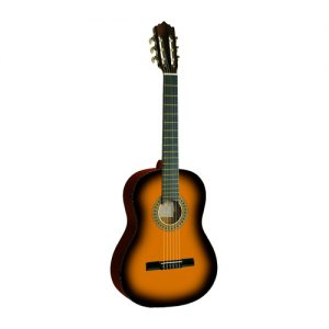 גיטרה קלאסית 1/2 + נרתיק FABIO / INFINITY KM-3411SB SUNBURST