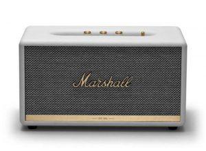 רמקול Bluetooth בצבע לבן מבית Marshall
