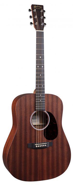 גיטרה אקוסטית מוגברת+נרתיק MARTIN D-10E-01