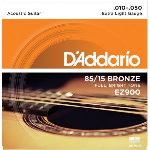 מיתרים לגיטרה אקוסטית DAddario EZ900 010-050