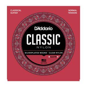 מיתרים לגיטרה קלאסית DAddario EJ27N 028-043