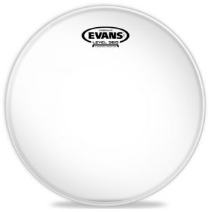 עור 10 EVANS Hydraulic Glass Clear Drum Head HYD GLS