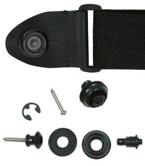 זוג נועלי רצועה שחור Dunlop
