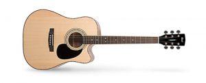 גיטרה אקוסטית מוגברת CORT AD880CE NS