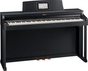 פסנתר חשמלי צבע שחור מאט Roland HPI-6F
