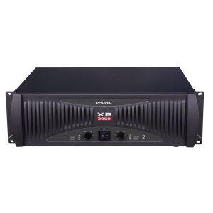 מגבר PHONIC XP2000 2 x 960 W RMS 2 ohm