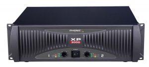 מגבר PHONIC XP3000 2 X 1400W RMS 2 ohm