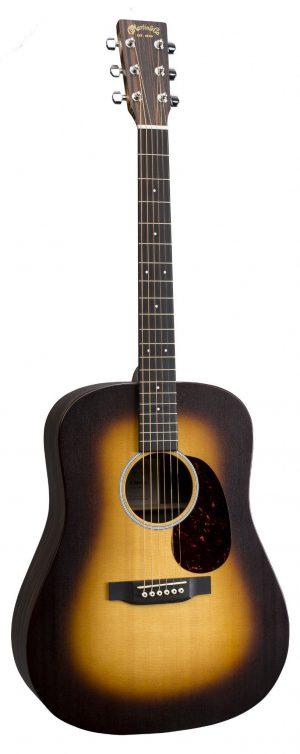 גיטרה אקוסטית מוגברת Martin DX1AE MACASSAR BURST